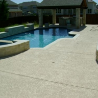 concrete resurfacing of pool deck