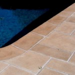 Residential Pool Deck With Limestone Overlay
