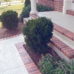 Concrete Resurfaced Porch with a Classic Texture