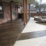 Tuscan finish on residential patio