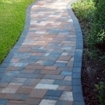 Residential Walkway with Thin Pavers