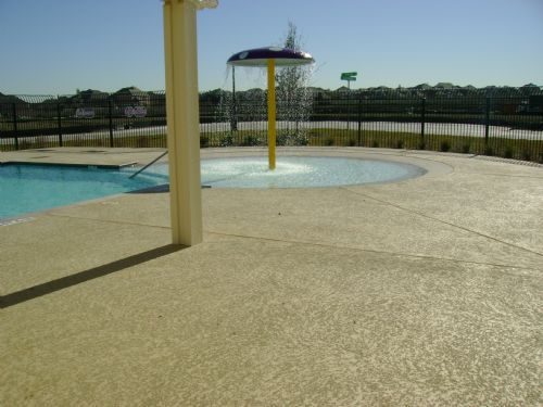 Classic Texture Commercial Pool Deck