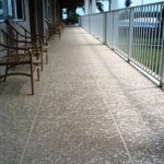 Concrete Resurfaced Walkway