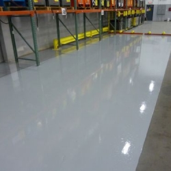 Urethane Coating in Assembly Plant