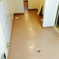 Al's Italian Beef Kitchen Epoxy Quartz Flooring