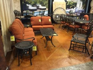 Micro-Coat with Acid Stain at Sunnyland Furniture