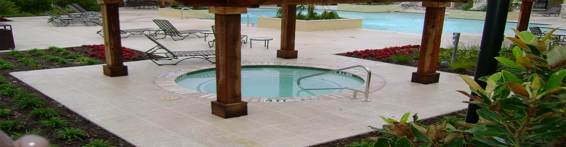 Commercial Pool Deck w/ Classic Texture