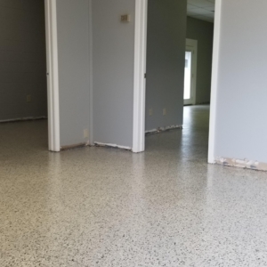 garage floor with epoxy coating residential