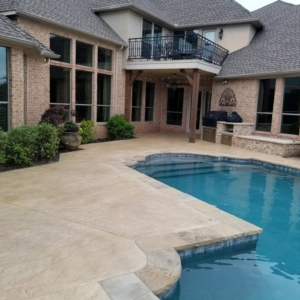great results with our stain rehab on residential pool deck