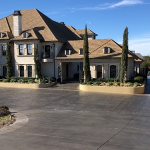 home driveway stain rehab results