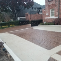 residential driveway stain rehab process