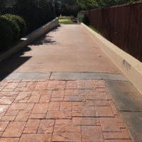 stain rehab complete residential driveway