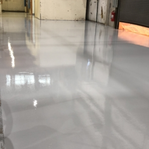 urethane flooring resurfaced warehouse floors